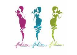 时尚女性图标