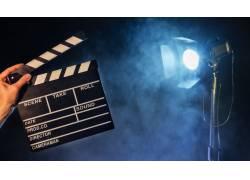 场记板拍电影