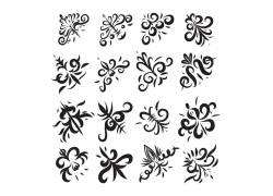 欧式古典花纹