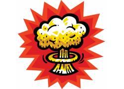 爆炸云朵设计
