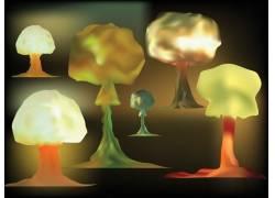爆破蘑菇云
