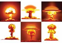 爆炸蘑菇云