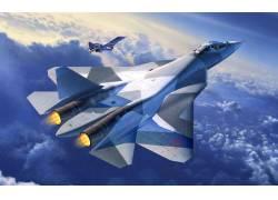 飞翔的战斗机