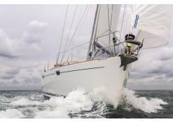 海上帆船拍摄高清图片