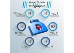 医疗数据统计展示PPT素材