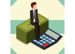商务金融漫画