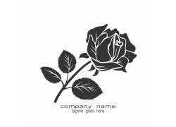 玫瑰企业logo