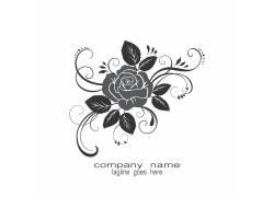 玫瑰花企业商标