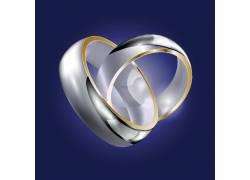 白金婚庆戒指