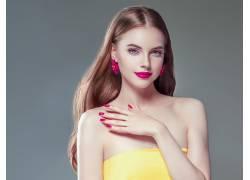 彩妆时尚性感美女
