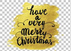 圣诞节股票插图节日问候字体,圣诞快乐! PNG剪贴画文本,圣诞节背图片