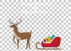 圣诞节驯鹿圣诞节汽车PNG clipart鹿茸,哺乳动物,脊椎动物,汽车,图片