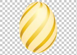 圣诞节象礼物,复活节金黄镶边鸡蛋,黄色faberge蛋例证PNG clipart图片