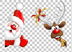 圣诞老人鲁道夫,圣诞老人PNG剪贴画假期,圣诞节装饰,虚构人物,鹿,图片