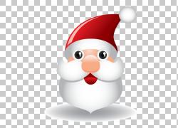 圣诞老人驯鹿卡通圣诞节,卡通圣诞老人头PNG剪贴画卡通人物,假期,图片