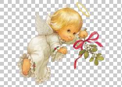天使小天使,可爱的圣诞天使,小天使天使PNG剪贴画演示文稿,虚构的图片
