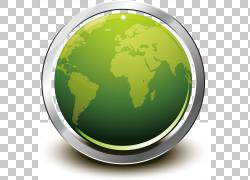 绿色地球装饰设计